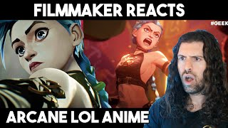 Filmmaker Reacts - Arcane: Animated Series | A Score To Settle League of Legends