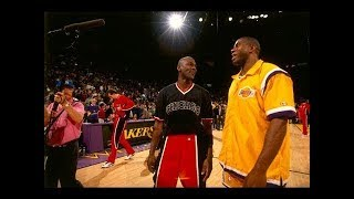 Michael Jordan, Magic Johnson and 100 First Career Baskets