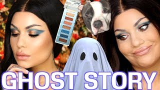 Theres a Ghost in my house (Story & GRWM) Urban Decay BEACHED PALETTE - SUMMER MAKEUP| Bailey Sarian