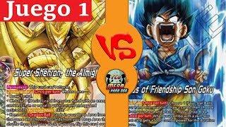 Super Shenron Storm  VS Kid Goku Y/B | Ronda 1, Juego 1 | Celebración DBS República Dominicana