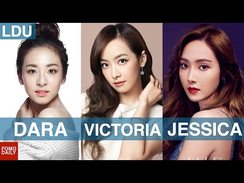 Dara from 2NE1, Victoria from f(x), Jessica from Girls Generation • Like, DM, Unfollow