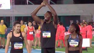Usain Bolt Dominates Mixed 4x100m