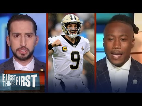 Drew Brees officially retires after 20 NFL seasons — Nick & Brandon react | NFL | FIRST THINGS FIRST