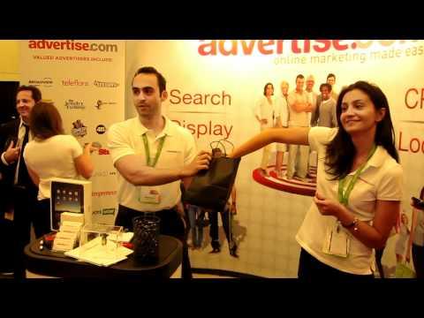 Advertise.com iPad Giveaway at SES San Francisco