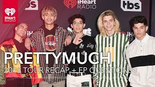 PRETTYMUCH Talks Favorite Songs Off EP + Songs They Wanted On EP | Exclusive Interview