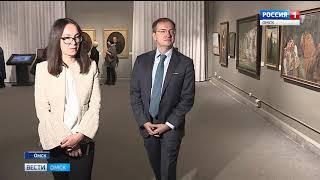 Министр культуры России Владимир Мединский посетил омский музей имени Врубеля