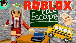 Me Escapo de la Escuela! Titi Jugando  Roblox Escape the School OBBY