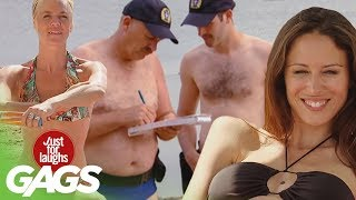 Best Beach Pranks - Best of Just for Laughs Gags