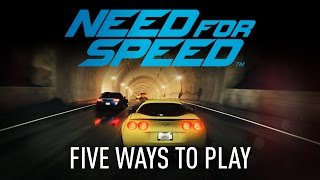 Need for Speed - Gameplay Innovations - Five Ways To Play