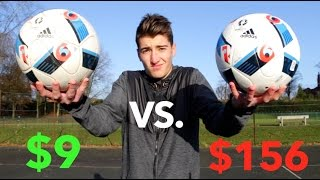$9 Vs. $156 FOOTBALL!! - Can You Spot the Difference??