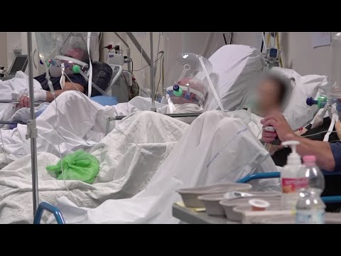 Italian hospital overwhelmed with COVID-19 cases