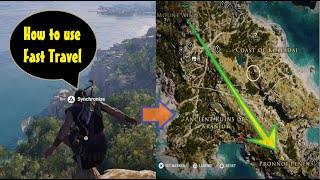 Assassin's Creed Odyssey How to use fast travel