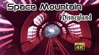 2019 Disneyland Space Mountain On Ride Front Seat Low Light Ultra HD 4k POV