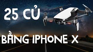 Trên tay DJI Mavic Air giá 25 triệu ngang iPhone X