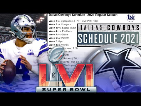 Dallas Cowboys Schedule 2021: Dates, times, win/loss predictions for 17-game schedule