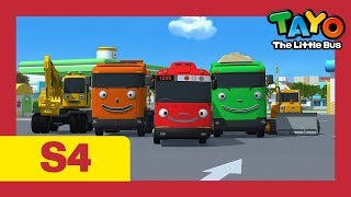 Tayo S4 EP21-26 l A present for Hana and more (66 mins) l Tayo Season 4 l Tayo the Little Bus