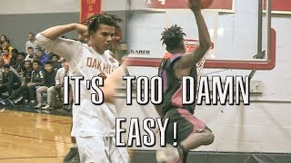 Cole Anthony HAD HIM STUMBLING! Aaron Njike Can FLY! CRAZY HIGHLIGHTS