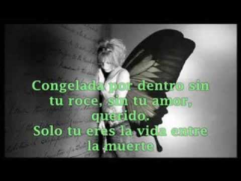 Evanescence- Bring me to life - Subtitulado Español