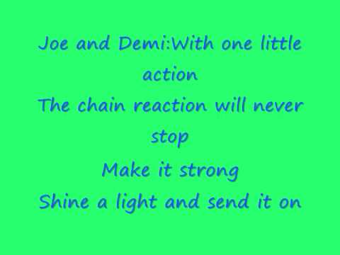 Baixar Send It On-Jonas Brothers,Miley Cyrus, Demi Lovato, and Selena Gomez with lyrics