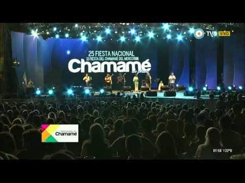 Fiesta Nacional del Chamamé 2015 - 6º Noche - Luis Landriscina, Julián Zini y Neiko Chamigo 21-01-15