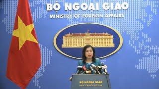 Họp báo thường kỳ Bộ Ngoại giao (14-6-2018)
