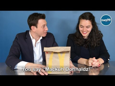 Brands that French People and Americans Pronounce Differently