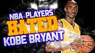 5 NBA Players Who HATED Kobe Bryant