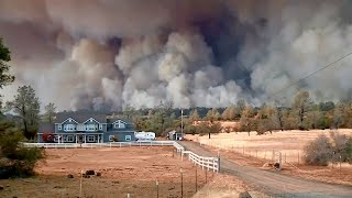 Hundreds of Structures Feared Destroyed in Butte County Wildfire