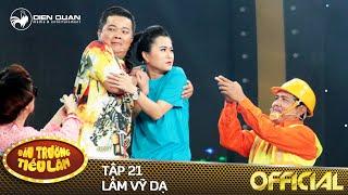 Đấu trường tiếu lâm | tập 21: Lâm Vỹ Dạ đột phá khi diễn cùng HLV Đức Thịnh