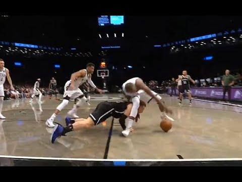NBA 季後賽 籃網 vs 公鹿 第一戰 上半場 『東區冠軍前哨戰! 雙方攻防對決精彩  Griffin拼了!! 』