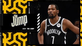 Kendrick Perkins doesn't buy the Nets being the favorite for the 2022 title   The Jump