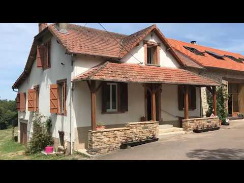 The Gite Villa In France - the Arrival Sight and also The Vista