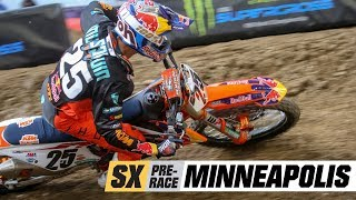 Supercross Pre-Race: Minneapolis