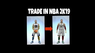 HOW TO TRADE IN ANOTHER TEAM IN NBA 2K19 IN ANDROID