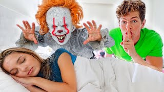 SCARING MY FRIENDS FOR 24 HOURS! (PART 2)