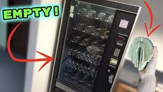 Someone BOUGHT EVERYTHING From MY VENDING MACHINE!