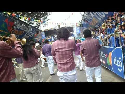 Banda Union Juvenil y Caporales Centralistas oruro  2012