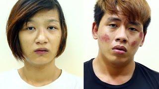 """""""Nữ tặc"""" đâm Cảnh sát hình sự giải vây cho người tình"""