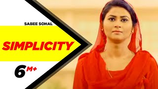 Simplicity – Sabee Sohal