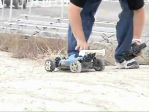 RC10 GT Racing S.W.A.T wrecks his Car