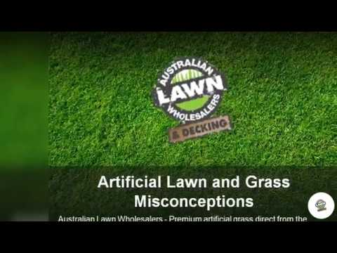 Artificial Lawn and Grass Misconceptions