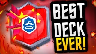 MY VERY BEST TROPHY DECK ft. TOP PRO LIVE COACHING! (CRL China Hog 3M Deck)