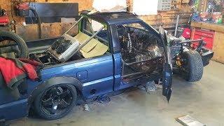 Drift Truck Roll Cage!
