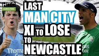 Last Man City XI To Lose To Newcastle (PREM)