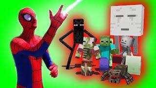 Monster School: Superhero Spiderman | Hulk | Star Wars Boys vs. Girls | (Monster School Compilation)