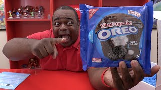 FILLED CUPCAKE OREO TASTE TEST!