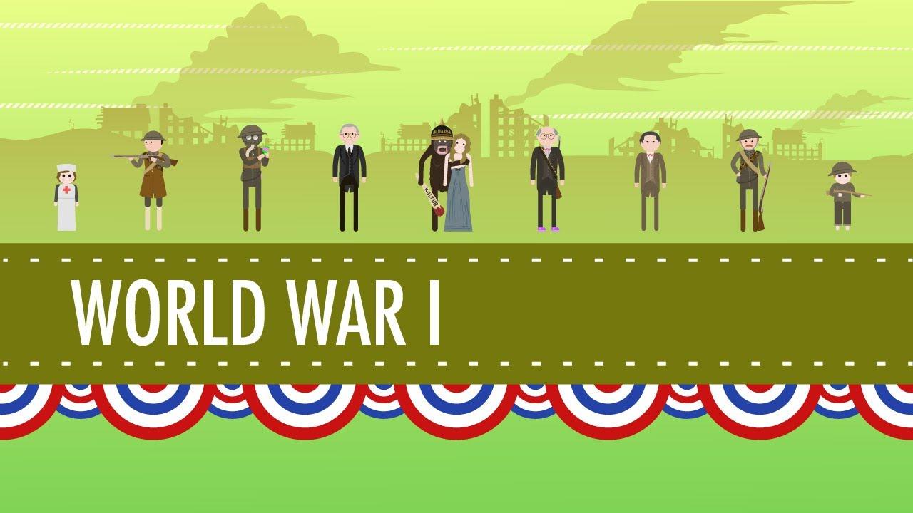 World War I - PowerPoint Template