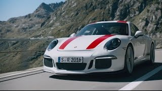 Ready to Rock. The new 911 R.