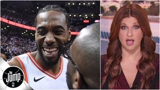 Kawhi Leonard did something that literally never happened before | The Jump