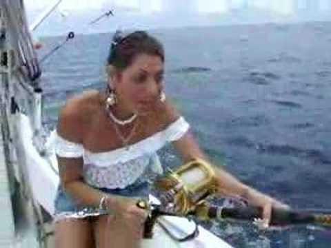 Оргазм на рыбалке